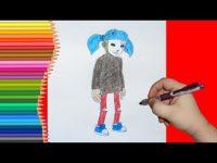 инструкция как нарисовать Салли Фейс